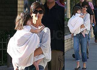 Photos of Katie Holmes in New York City With Suri Cruise