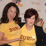 Fran Drescher and Sharon Osbourne