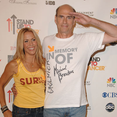 Sheryl Crow and James Taylor