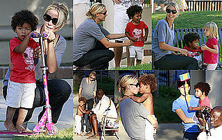 Photos of Heidi Klum With Kids, Project Runway Season 6 Delayed Until January 2009
