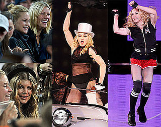 Photos of Fergie, Gwyneth Paltrow, Kate Hudson At Madonna's Show in London