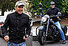 Photos of George Clooney on Motorcycle in Los Angeles