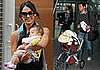 Photos of Jessica Alba, Cash Warren, and Honor Warren in NYC