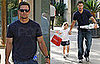 Photos of Mark Wahlberg With His Daughter Ella in Los Angeles