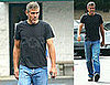 George Clooney Shops at T-Mobile