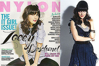 Zooey Deschanel For Nylon Magazine