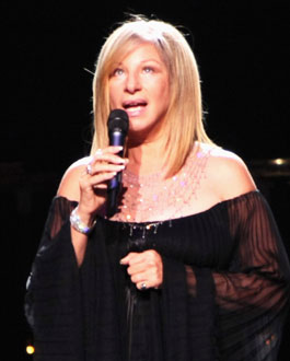 Photo of Barbra Streisand and Barack Obama, Beverly Hills Obama Fundraiser Raised $9 Million