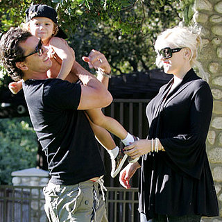 Gwen Stefani and Family Out in LA 2008-09-20 13:00:00
