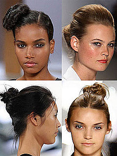 Trend Alert: Buns on the Run(way) at Spring Fashion Week