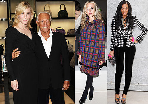 Photos of Cate Blanchett, Rachel Zoe, Solange Knowles at Milan Fashion Week
