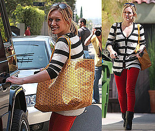 Photos of Hilary Duff in LA