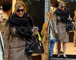 Photos of Jennifer Lopez Shopping at Via Montenapoleone in Milan