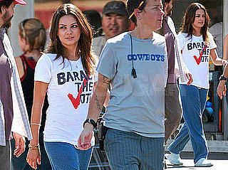 Mila Kunis Is Baracking and Rolling to the Top