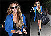 Photos of Lindsay Lohan in Los Angeles Defending Samantha Ronson Against Her Father's Attack