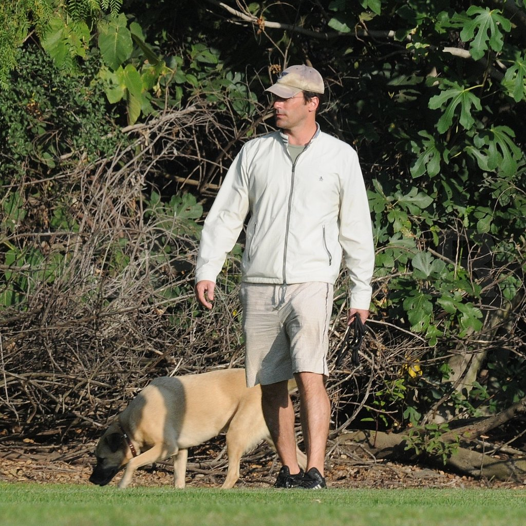Jon Hamm at the Dog Park