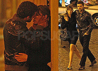 Photos of Justin Timberlake and Jessica Biel Kissing in Rome