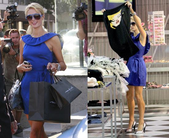 10/1/08 Paris Hilton