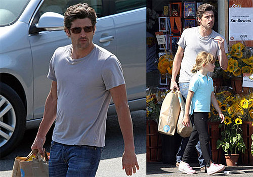 Photos of Patrick Dempsey with His Daughter Tallulah in Brentwood
