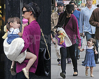 Photos of Celebrity Baby Suri Cruise With Mom Katie Holmes in NYC