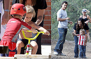 Photos of Kingston Rossdale on a Playdate With Cruz Beckham in LA