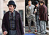 Photos of Robert Downey Jr. on the Set of Sherlock Holmes in London