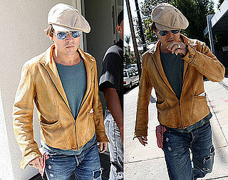 Photos of Johnny Depp Out in LA