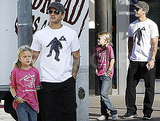 Photos of Ryan Phillippe and Ava Phillippe in Santa Monica