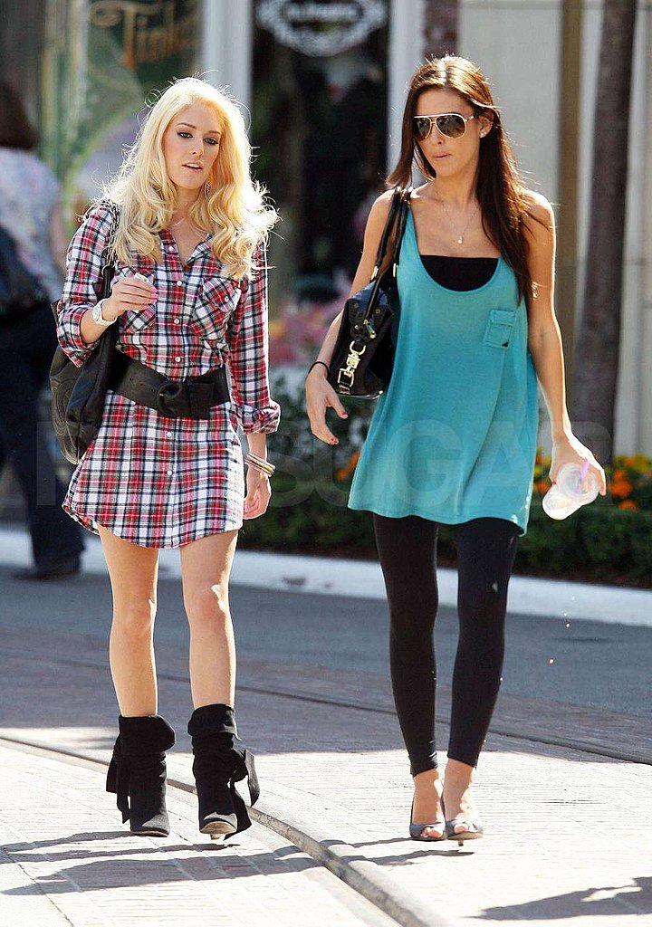 Heidi and Audrina in LA