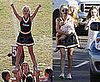 Photos of Dakota Fanning Cheerleading