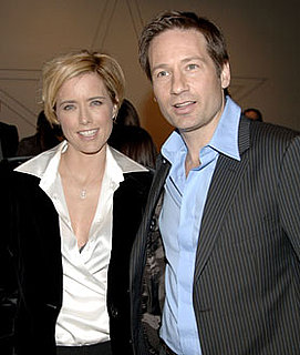 Photo of David Duchovny and Tea Leoni, Who May Have Split Over Tea's Rumored Affair With Billy Bob Thornton
