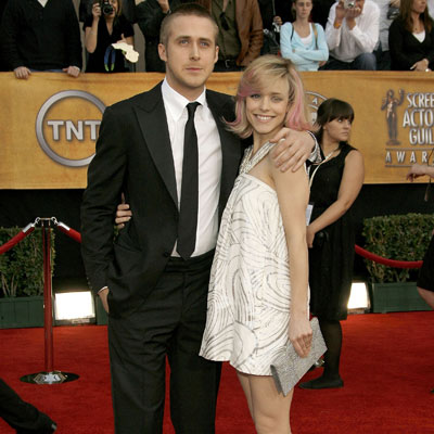 No. 1 Ryan Gosling and Rachel McAdams