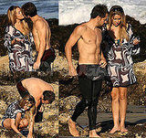 LC and Kyle at the Beach