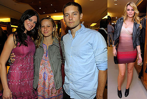 Photos of Tobey Maguire, Jennifer Meyer, Mischa Barton at Opening of Arcade Boutique in LA