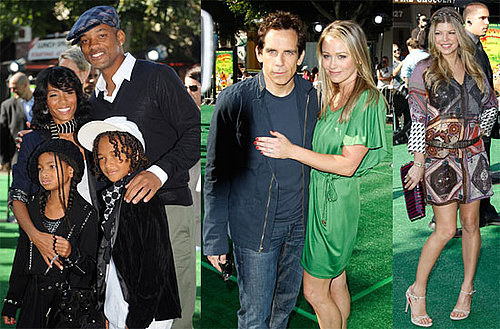 Photos of Will Smith, Jada Pinkett Smith, Fergie, Ben Stiller at the Premiere of Madagascar: Escape 2 Africa
