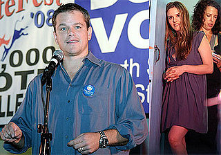 Photos of Matt Damon, Alicia Silverstone, Kerry Washington at VoteFest '08 Obama Rally in Miami
