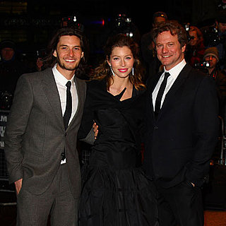 Jessica Biel, Colin Firth and Ben Barnes Promote Easy Virtue at the London Film Festival
