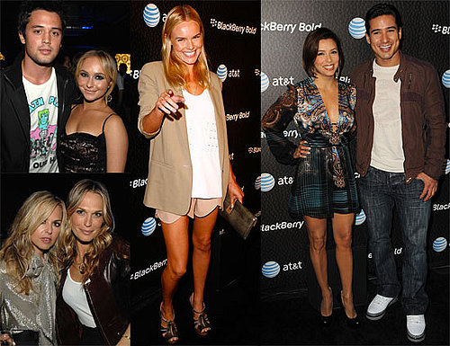 Photos of BlackBerry Bold Launch Party, Including Kate Bosworth, Eva Longoria, Rachel Zoe, Hayden Panettiere, Stephen Colletti