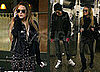 Photos of Lindsay Lohan and Samantha Ronson in the Subway Station in NYC