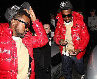 Photos of Kanye West in Liverpool