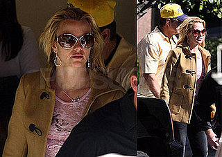 Britney Spears Checks Up Before Hitting Madonna's Stage