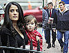 Photos of Salma Hayek and Valentina On The Set of 30 Rock in New York