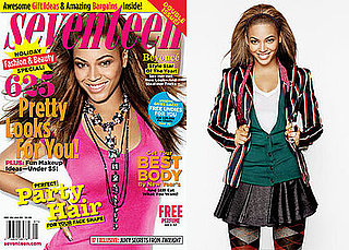 Photos and Quotes from Beyonce Knowles on the Cover of Seventeen Magazine