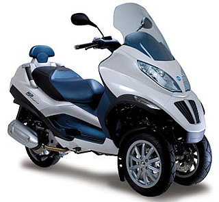 Piaggio Hybrid Electric Scooter