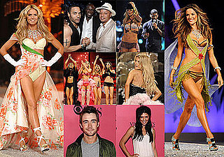 Red Carpet and Runway Photos of Victoria's Secret Fashion Show Including Heidi Klum, Marisa Miller, Miranda Kerr, Adriana Lima