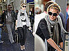 Photos of Heidi Klum and Seal at the Airport