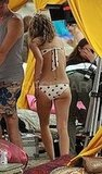 AnnaLynne McCord On the Set of 90210