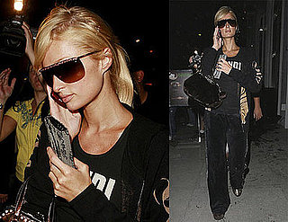 Paris Hilton Touches Up Her Tan, Avoid Benji Madden Questions, in LA
