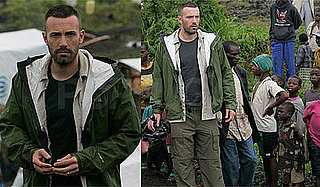 Photos of Ben Affleck In the Congo, Quotes from Interview Raising Awareness about War-Torn Country