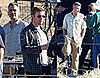 Photos of George Clooney on Set of Men Who Stare At Goats