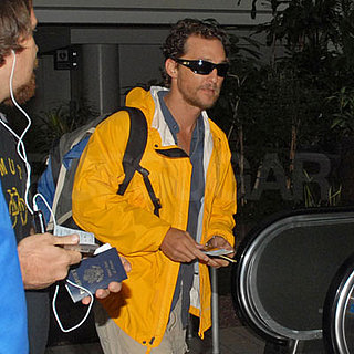 Matthew McConaughey at LAX